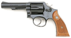 Een revolver Smith et Wesson Kal.357 en .38, type 38 - type 19 - loop 6'' - afwerking 'bleue' Smitch & Wesson .357